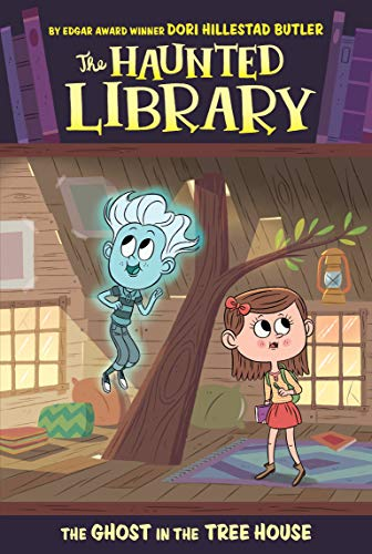 9780448489414: The Ghost in the Tree House #7 (The Haunted Library)