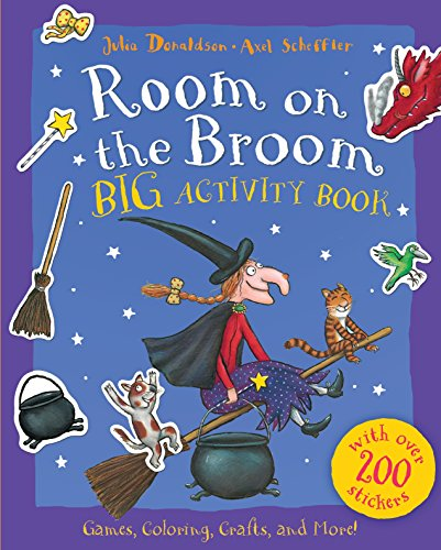 9780448489445: Room on the Broom Big Activity Book