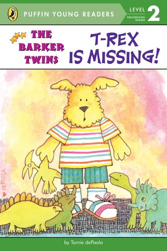 9780448494791: T-Rex Is Missing!: A Barkers Book (The Barker Twins)