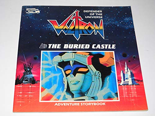 9780448818887: The Buried Castle (Voltron, defender of the universe)