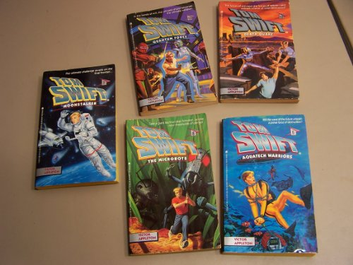 Tom Swift Box Set (Tom Swift and his Sky Wheel, Caves of Nuclear FIre, Giant Robot, Rocket Ship, ...