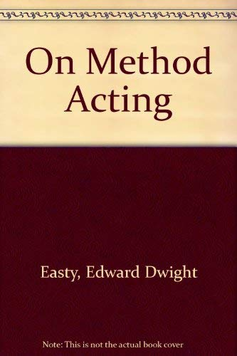 9780449001387: On Method Acting (MM to TR Promotion)