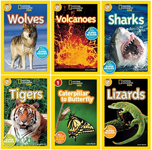 9780449007594: National Geographic Kids Readers 6 Book Set (National Geographic Kids Readers, Levels : 1 & 2)