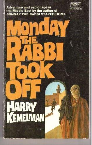 9780449017852: Monday The Rabbi Took Off