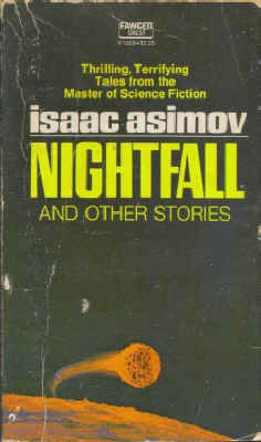 Nightfall and Other Stories (Crest Science Fiction, P1969): Isaac Asimov
