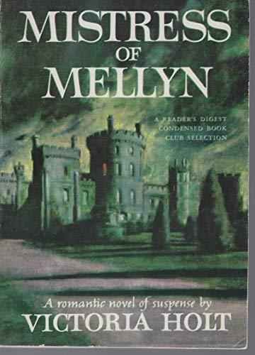 9780449019948: mistress of mellyn
