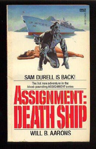9780449124406: Assignment: Death Ship (Sam Durell)