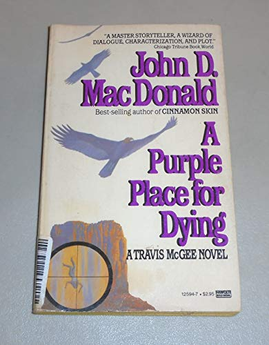 9780449125946: Purple Place for Dying