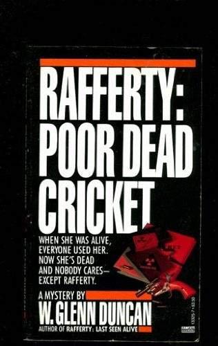 9780449133255: Rafferty: Poor Dead Cricket