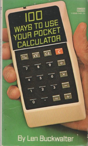 100 Ways to Use Your Pocket Calculator