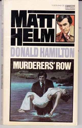 Murderers Row (9780449135785) by Donald Hamilton