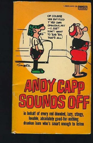 9780449138052: Andy Capp Sounds Off