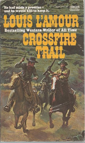 9780449138366: Crossfire Trail