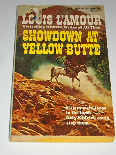 9780449138939: Showdown at Yellow Butte