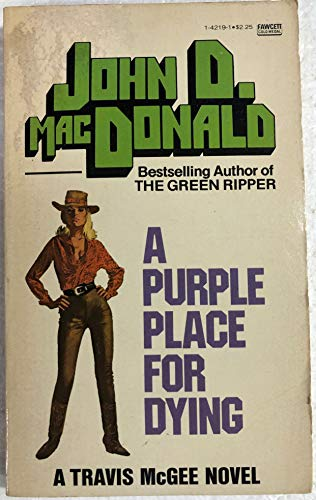9780449142196: A Purple Place For Dying