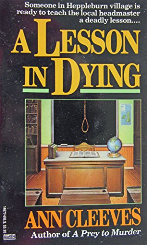 9780449146774: A Lesson in Dying