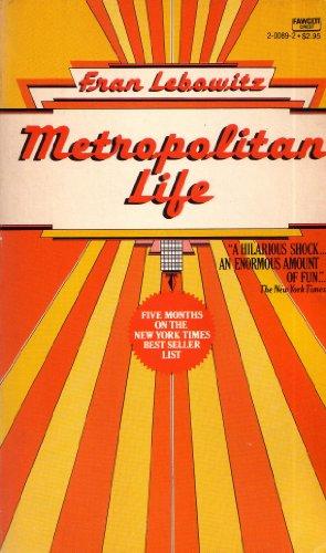 9780449200896: Metropolitan Life