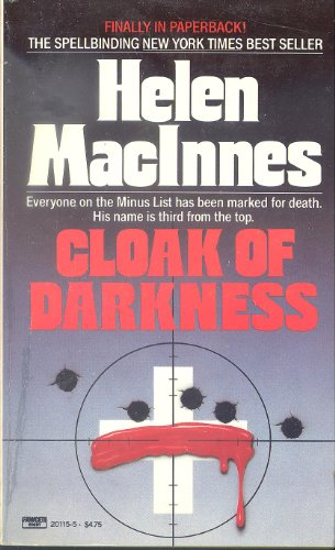 9780449201152: Cloak of Darkness