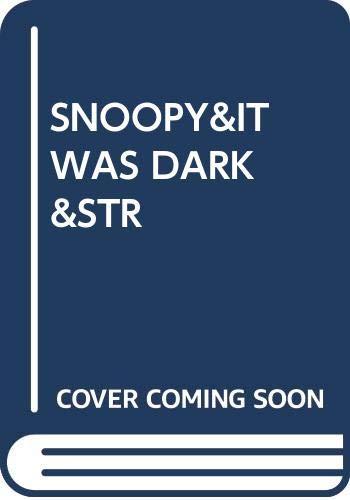 9780449201879: Snoopy&it Was Dark&str