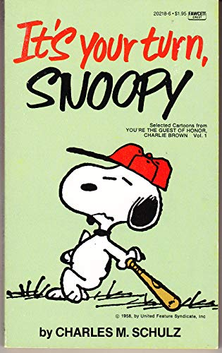 9780449202180: It's Your Turn, Snoopy