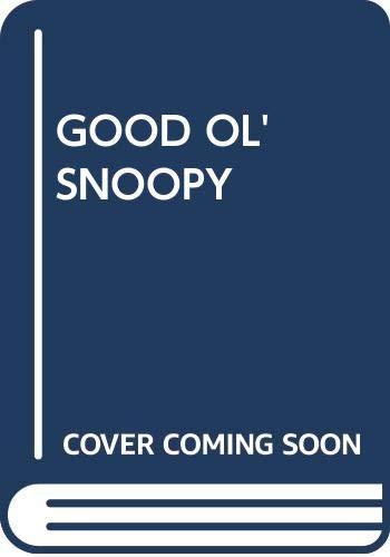 9780449205396: GOOD OL' SNOOPY