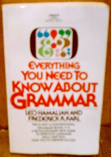 9780449205594: Title: Everything You Need to Know About Grammar