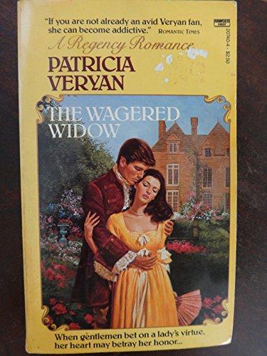 9780449207406: The Wagered Widow (Regency Romance)