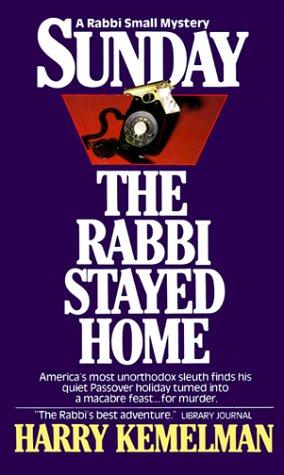 9780449210000: Sunday the Rabbi Stayed Home