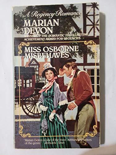 9780449217375: Miss Osborne Misbehaves