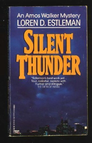 9780449218549: Silent Thunder (The Amos Walker Series #10)