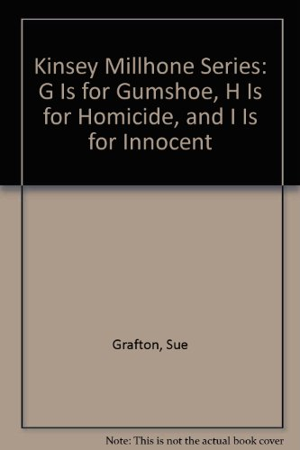9780449222621: Kinsey Millhone Series: G Is for Gumshoe, H Is for Homicide, and I Is for Innocent