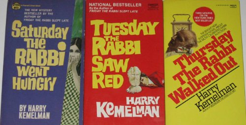 9780449223369: Tuesday the Rabbi Saw Red