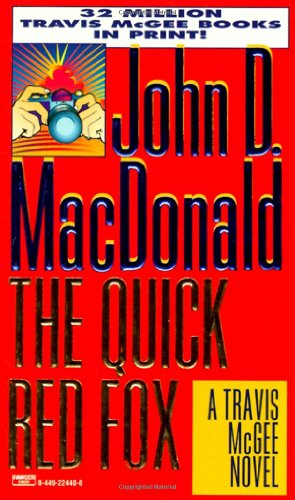 9780449224403: Quick Red Fox (Travis McGee, No. 4)