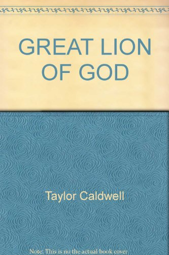 9780449224458: GREAT LION OF GOD