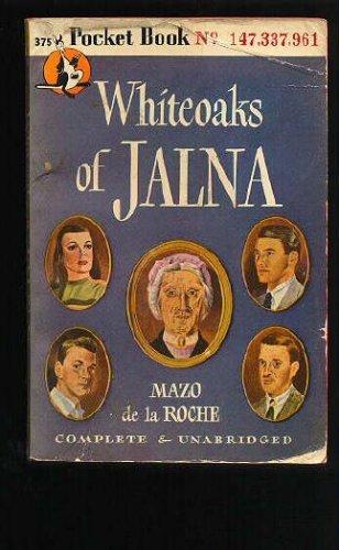 Whiteoaks of Jalna: Mazo de la