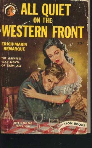 ALL QUIET WEST FRNT 1: ERICH MARIA REMARQUE