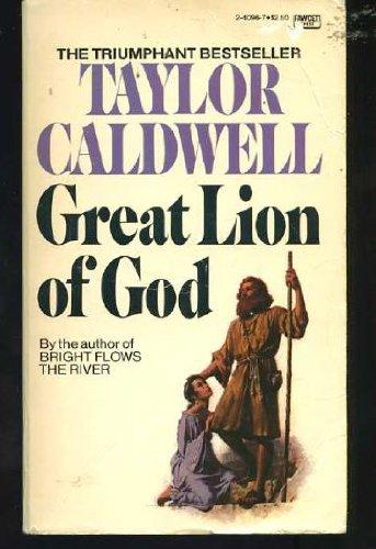 9780449240960: GREAT LION OF GOD  -3 (Fawcett Crest Book)
