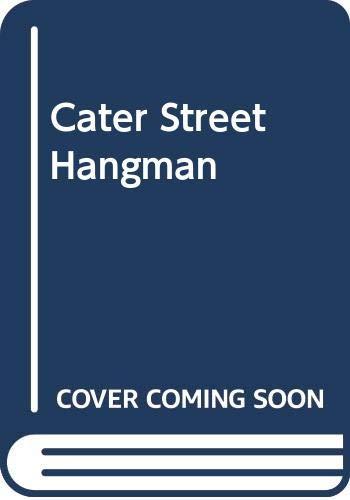 9780449243275: Cater Street Hangman
