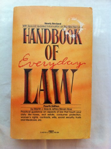 9780449245156: Handbook of Everyday Law: (4th Edition)