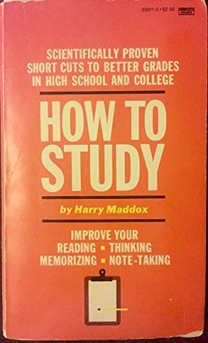 9780449300114: How to Study