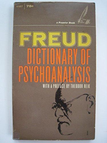 9780449307250: Freud Dictionary of Psychoanalysis