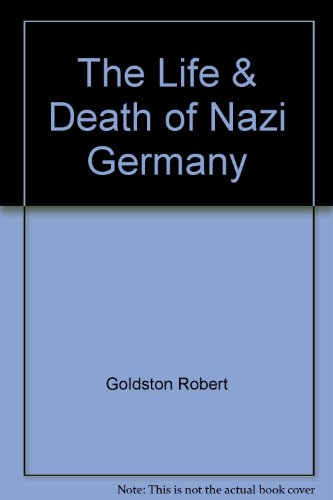 Life Death Germany: Goldston, Robert