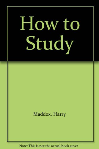 9780449308318: How to Study