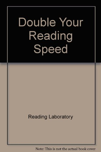 9780449308561: Double Your Reading Speed
