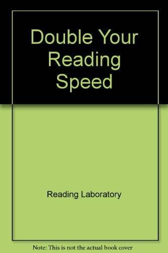 9780449442500: Double Your Reading Speed