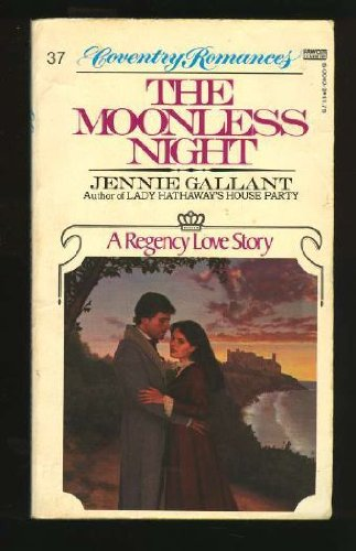 9780449500408: The Moonless Night (Coventry Romances, No. 37)