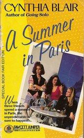 9780449703939: A Summer in Paris