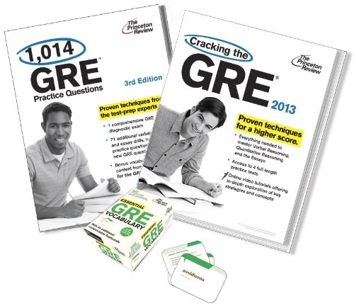 9780449804995: Complete GRE Test Prep Bundle: Includes GRE Prep Book, GRE Practice Questions Book, and GRE Vocabulary Flashcards Set