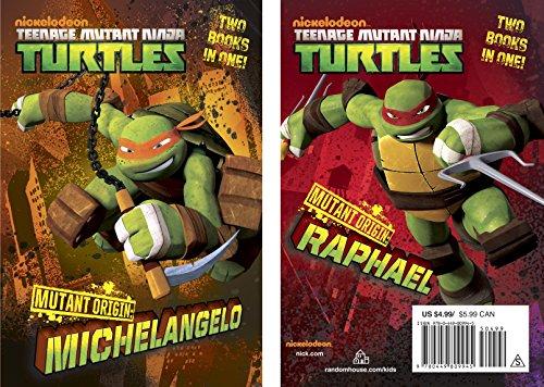9780449809945: Mutant Origin: Michelangelo/Raphael (Teenage Mutant Ninja Turtles) (Nickelodean Teenage Mutant Ninja Turtles)