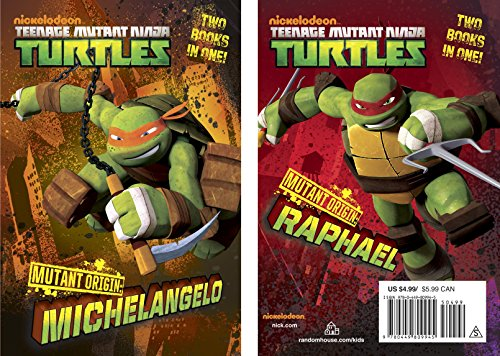 9780449809945: Mutant Origin: Michelangelo/Raphael (Teenage Mutant Ninja Turtles)